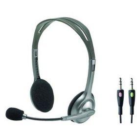 Logitech H110 Stereo Headset, Black [981-000271]