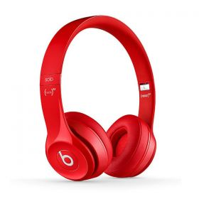 Beats Solo2 Wired On-Ear Headphone - Red