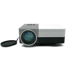 eTrends LED50 LED Projector 80 LUMENS Portable Home theater Media Player USB HDMI VGA 1080p Support