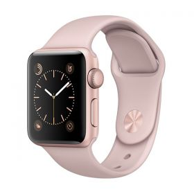 Apple Watch Series 1 - 38mm Rose Gold Pink Sports Band