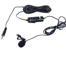 BOYA BY-M1 Omnidirectional Lavalier Microphone for Canon Nikon Sony DSLR Phone 6 5S 5 4S 4