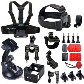 Smatree 25 in 1 Accessories Kit for GoPro Camera