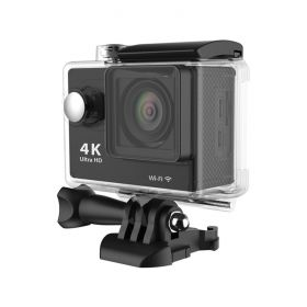 Crony Ultra HD 4K 12MP Waterproof Wifi Action Camera H9,Black