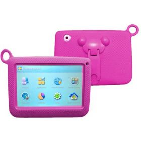VIPTAB KIDS 3++ 7Inch, PINK Android 4.4.2, 8GB, 512MB Ram, Wi-Fi, Bluetooth,Quad Core