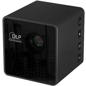 Mini Portable LED Home Movie Theater Projector - UNIC P1, Black