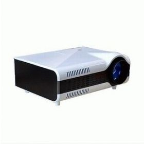 Pocket LED 3D home theater video Projector with 2200 lumens brightness led lcd digital Proyector beam