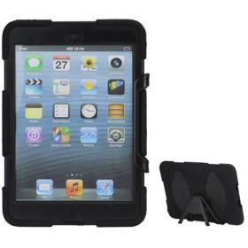 Griffin Survivor Case for iPad Mini / iPad Mini 2 with stand and Screen Protector – Black
