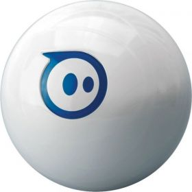 Sphero 2.0 App Controlled Robotic Ball - Retail Packaging - White/Blue