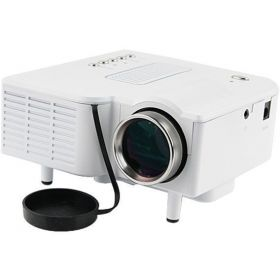 Portable Mini 1080P HD Multimedia LED Projector Home Cinema TV VGA USB