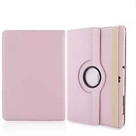 Samsung T900 tab Pro 12.2 protective cover plate can be rotated T901 leather T905 shell(DD/Pink)