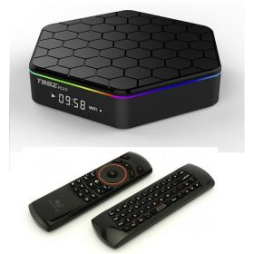 Smart TV Box T95Z Plus, android 6, Full Loaded KODI, Amlogic S912 CPU, 2GB Ram, 16GB Rom, 4K, Dual WiFi, Rii i25 Keyboard/AirMouse