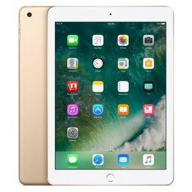 New Apple iPad - March 2017 - 9.7 Inch Retina Display with Facetime - 32GB, 4G LTE, iOS 10,Gold