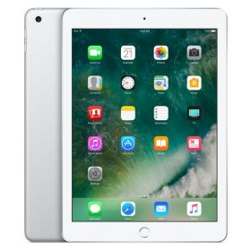 New Apple iPad - March 2017 - 9.7 Inch Retina Display with Facetime - 32GB, 4G LTE, iOS 10, Silver