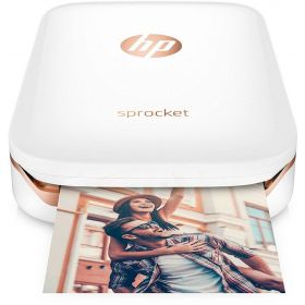 HP Sprocket Bluetooth Photo Printer White