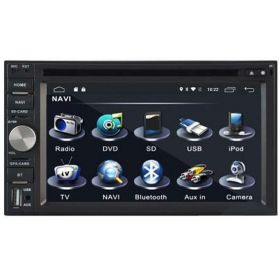 A-A DVD And GPS Navigation System For Universal Model- With Rear View Camera and Magic Box Car Seat Organizer
