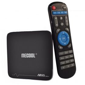 MECOOL M8S Pro+, Android 7.1 TV Box 2.4GHz WiFi, Support 4Kx2K, Amlogic S905X, 2GB Ram, 16GB Rom