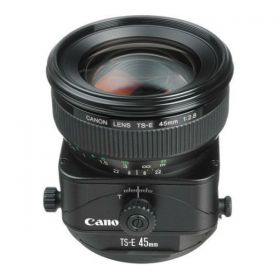 Canon TS-E 45mm f/2.8 Tilt-Shift Lens, Black [TS E45]