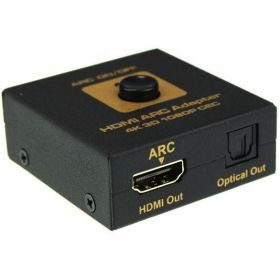 HDMI ARC Adapter to HDMI & Toslink Optical Audio Converter 4K 3D 1080P CEC