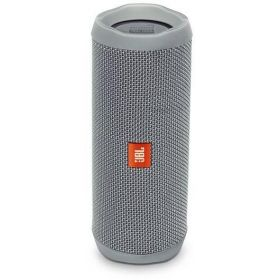 JBL Flip 4 Waterproof Portable Bluetooth speaker - Grey, JBLFLIP4GRYAM