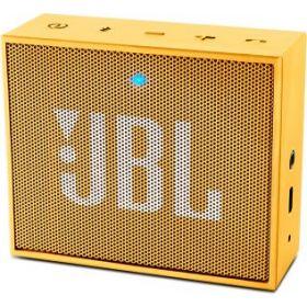 JBL GO Portable Bluetooth Speaker - Yellow, JBLGOYEL