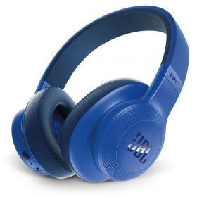 JBL On-Ear Bluetooth Headphones, Blue - E55BT