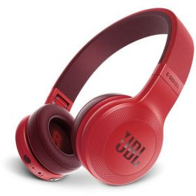 JBL On-Ear Bluetooth Headphones, Red - E45BT