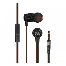 JBL T180A Stereo Wired Headphones(Black, In the Ear)