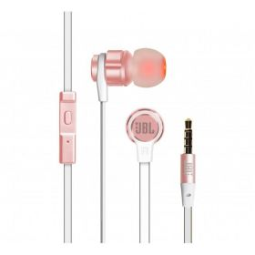 JBL Wired Earphone with Microhpne , Pink , T180A