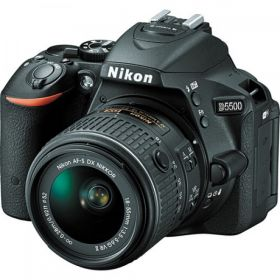 Nikon D5500 DSLR Camera with 18-55mm Lens Black