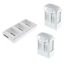DJI Phantom 4 Pro  Batteries 5870 mah (Refurbished) and Charging Hub