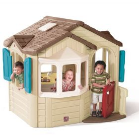 Step2 Company Welcome Home Playhouse Outdoor Toy [Cream, 727000]