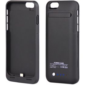 3200mAh External Battery Backup Charger Black Case Cover Power Bank For 4.7 Apple iPhone 6