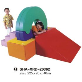 Kids 3 Steps Outdoor Climber Slides SHA-XRD-20362